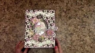 "Free step by step tutorial on how to make this 8-1/2 X 6-1/2"" with 3-1/2"" spine mini album using Heartfelt Creations Flowering Dogwood paper and die cut collection.   For beginners or seasoned crafters.  You 'll get an easy, down to earth learning experience from my tutorials.  This album has 14 decorated pages of detailed, fun layouts, featuring how to make  pockets, foldout pages, and more!.  Supplies for this tutorial can be purchased at  http://jshobbiesandcrafts.com or  http://stores.ebay.com/jshobbiesandcrafts/    Be sure to visit my YouTube channel for more tutorials www.youtube.com/c/shelliegeigle and also on Facebook: Search J & S Hobbies and Crafts or Designs by Shellie    You can find a free materials list for this tutorial at www.jshobbiesandcrafts.com.   My blog: www.designsbyshellie.blogspot.com"
