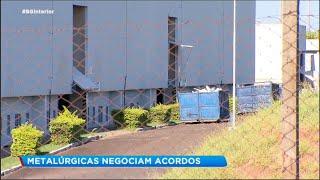 Setor metalúrgico faz acordos para evitar demissões