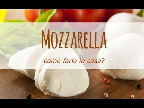 come fare la mozzarella in casa - ricetta
