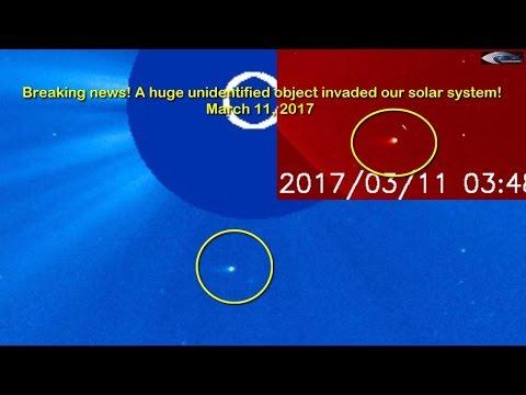 Огромный неопознанный объект вторгся в нашу солнечную систему! 11 марта 2017