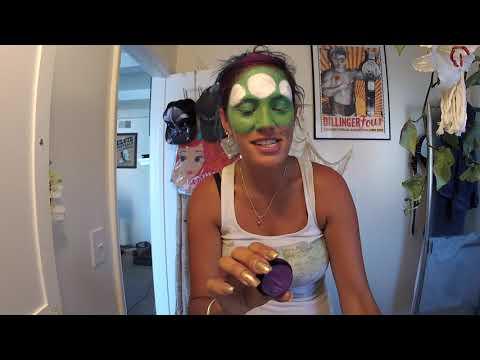 Toy Story Alien Makeup Halloween Costume! | Tawnie's Mermaid Squad