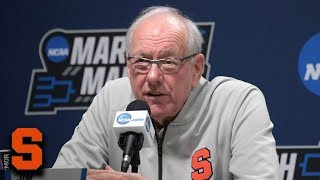 Syracuse Playing Without Frank Howard
