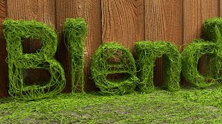 http://www.BlenderHut.com This Blender video demonstrates how to make an animation of vines growing to form a word. Blender version 2.78c was used for this tutorial. This video shows techniques that may be helpful to beginners and intermediate users.Link to ground and fence images http://www.littlewebhut.com/images/ground.jpg http://www.littlewebhut.com/images/fence.jpg Blender website http://www.blender.org