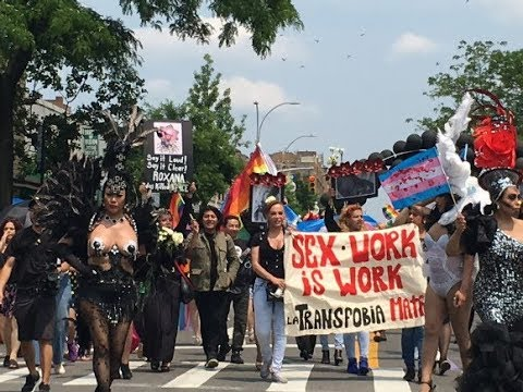 """Queens Pride 2019: Sex workers chanted """"Fxxk the Police!"""""""