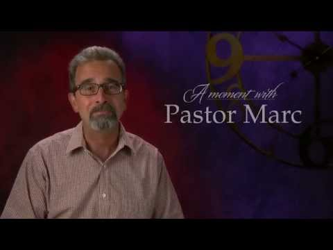 "A Moment with Pastor Marc #14<br /><strong>""You are NOT a grasshopper!""</strong>"
