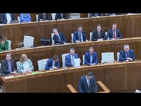 Σλοβακία: Απορρίφθηκε η πρόταση μομφής κατά της κυβέρνησης…
