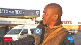 SOWETO, 20 July 2017 - Commuters have been badly affected by the closure of five taxi ranks in Soweto. eNCA's Malungelo Booi is at the Phefeni taxi rank in Soweto.