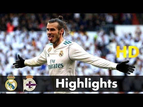 Real Madrid vs Deportivo La Coruna Highlights 7-1 All Goals full match highlight  21/01/2018 HD