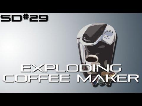 Season Premiere Exploding Coffee Maker