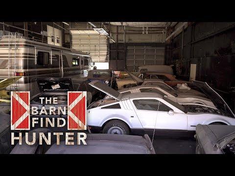 Forgotten warehouse full of cars must go! | Barn Find Hunter - Ep. 21