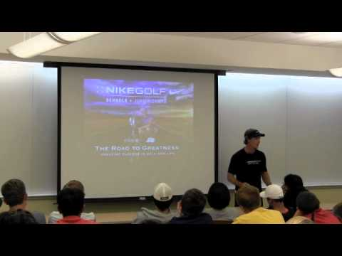 Nike Jr Golf Camps – Mental Toughness Seminar