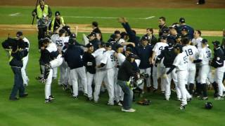 Final Pitch NY Yankees Win 2009 World Series Live HD