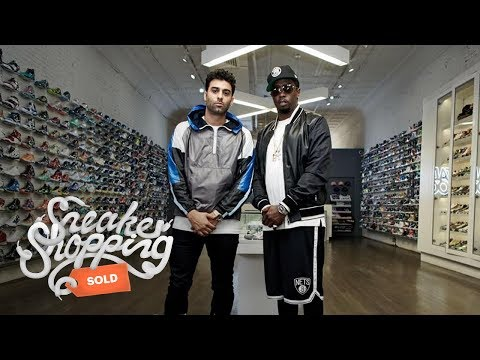 "Sean ""Diddy"" Combs Goes Sneaker Shopping With Complex"