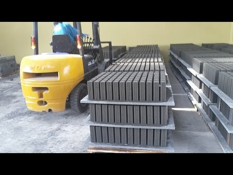 Công nghệ sản xuất gạch không nung