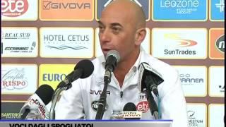 INTERVISTA ALBERTO BOLLINI DOPO GARA SALERNITANA-BARI