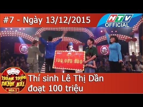 Thách Thức Danh Hài Tập 7 (27/5/2015) - Full HD