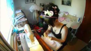 Dress Construction Time Lapse - Katamari Sweets Kingdom.