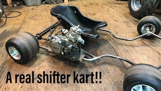 Video Building a YZ85 shifter kart part 1 MP3, 3GP, MP4, WEBM, AVI, FLV Maret 2019