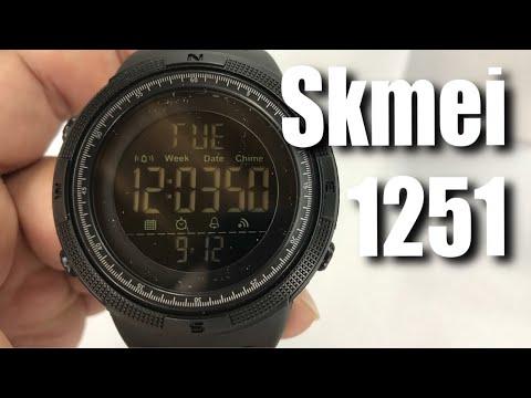SKMEI Digital Watch Large Face Sport Wristwatch Black 1251 Review