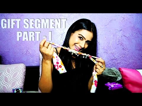 Nia Sharma recieves fan's gifts PART 1