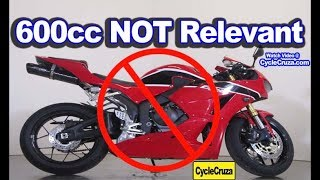 4. Why Honda CBR600rr is NOT Relevant Now (R.I.P. 600cc Supersport)