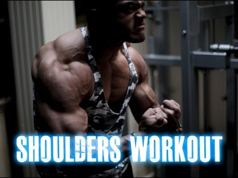 Natural Bodybuilding series 116 : Shoulders workout