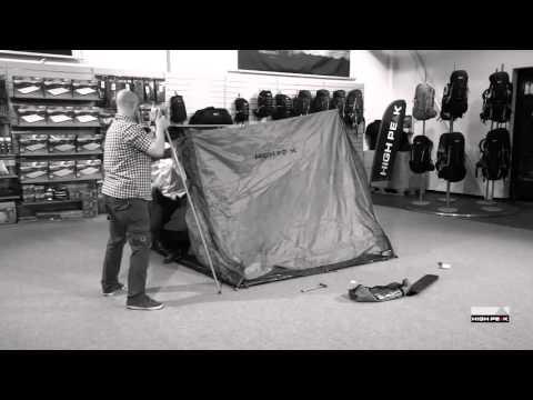 Відео демонстрація палатки High Peak Scout 2