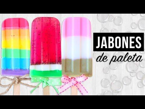 DIY- JABONES EN FORMA DE PALETA (RÁPIDOS Y FÁCILES) | KARLA CELIS