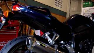 7. 2009 Yamaha FZ1 Two Brothers Ti slip on and Juice Box installed