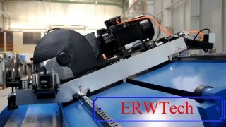 ERWTech Flying Cold Saw Cutting