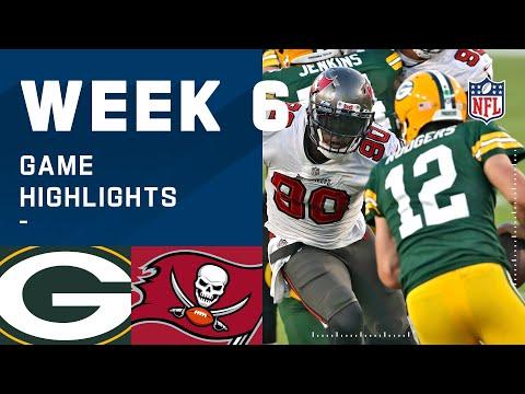 Packers vs. Buccaneers Week 6 Highlights | NFL 2020