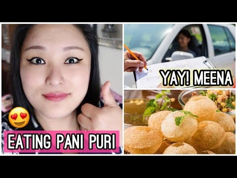 (Eating Pani Puri | Yay! She Passed the Driving Test - Congratulations! - Day #131 - Duration: 11 minutes.)