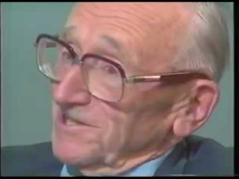 hayek - Friedrich A. Hayek interviewed by John O'Sullivan in 1985. Friedrich August von Hayek (1899-1992), was an Austrian-born economist and philosopher known for h...