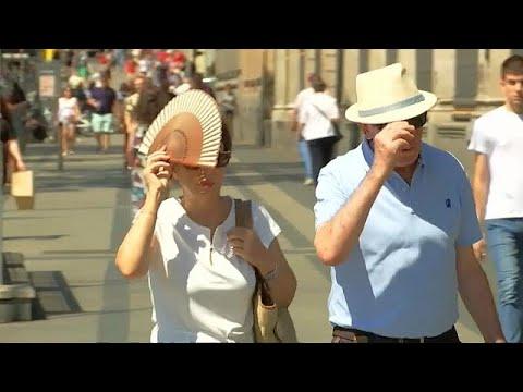 Κύμα καύσωνα πλήττει την Ιβηρική