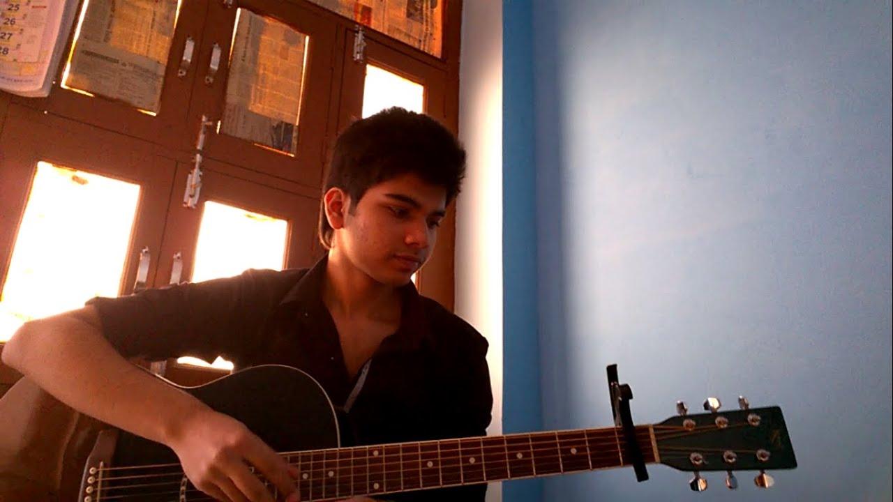 Acoustic guitar cover of various bollywood songs BY Rishabh Jain…. :)