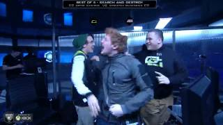 Optic Reaction to beating SB Gaming : Call of duty Championships