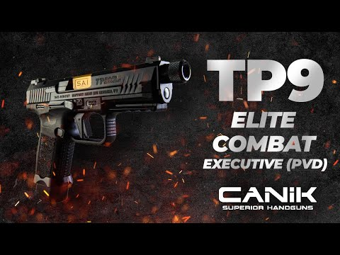 CANIK TP9 ELITE COMBAT EXECUTIVE(PVD)