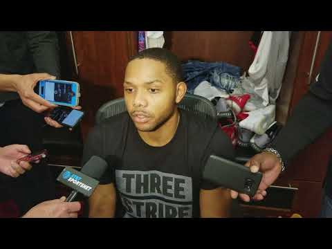 Eric Gordon after Rockets win over Nets