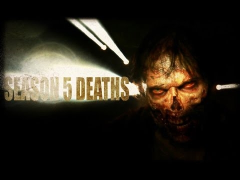 All The Zombie Kills From The Walking Dead Season 5 In One Gory Video