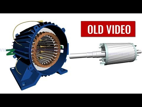 motor - Working of 3 Phase Induction motor is explained in this video with help of animation. They are the most commonly used electric motors. Here basic operation p...