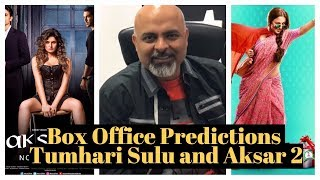 Box Office Prediction Tumhari Sulu & Aksar 2