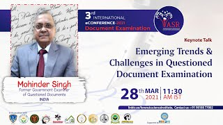 Emerging Trends & Challenges in Questioned Document Examination