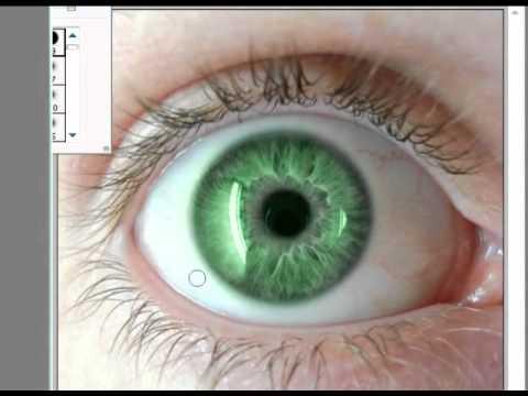 Photoshop CS3 - Cambiar color de Ojos!  - Tutorial.