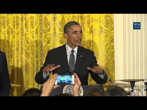 President Obama Hosts a Cinco de Mayo Reception