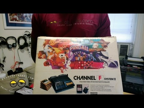 Throwback Console Thursday: Fairchild Channel F System II Unboxing