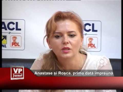 Anastase și Roșca, prima dată împreună
