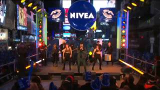 Jencarlos Canela en Times Square 2014 New Year's Eve