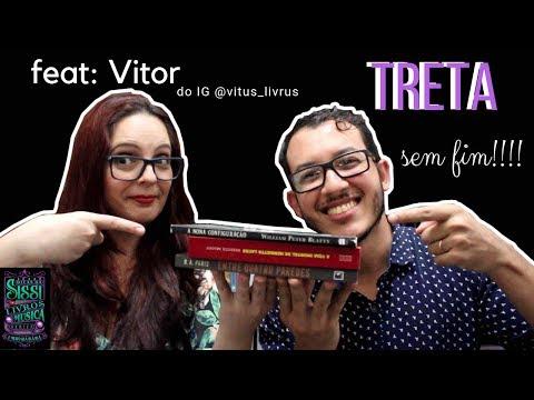 TAG Da Discórdia Feat.:  Vitor do Vitus Livrus |  Dicas da Sissi
