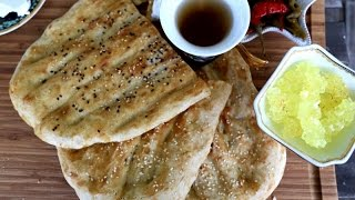 Video Homemade Iranian Barbari - Flat Bread Recipe - Heghineh Cooking Show MP3, 3GP, MP4, WEBM, AVI, FLV Desember 2018