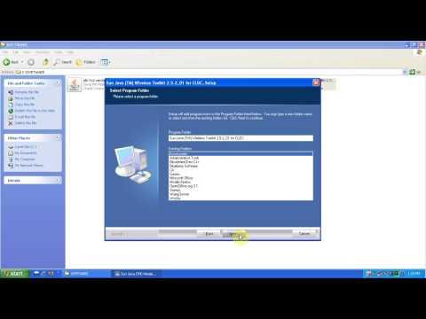 J2ME Wireless Toolkit and Sun Serial Development Kit avi